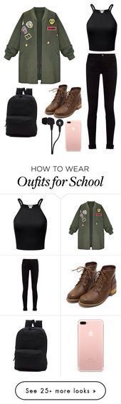 how to wear outfits for school (Top For Teens For School)