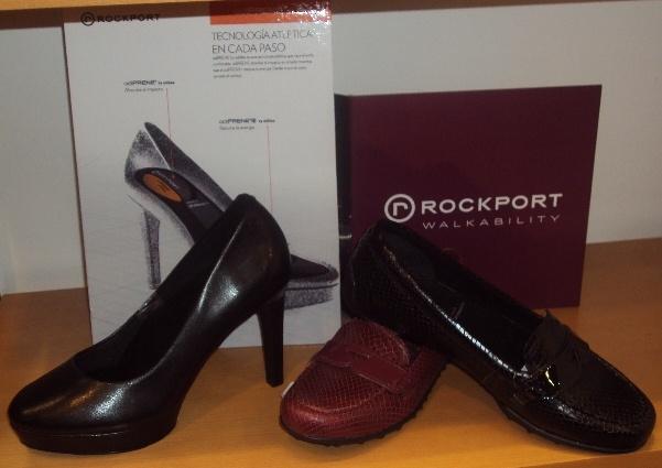 Zapatos Rockport para mujer.
