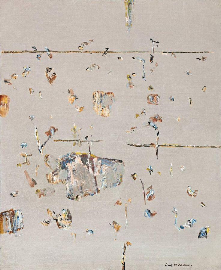 'ponds, lysterfield', 1966, fred williams, australian landscape artist