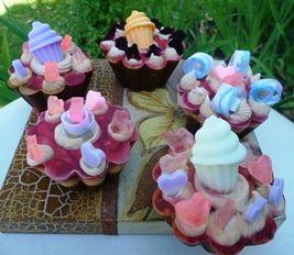Engañando los sentidos, los jabones de la línea gastronómica se presentan como delicioso pasteles y cupcakes
