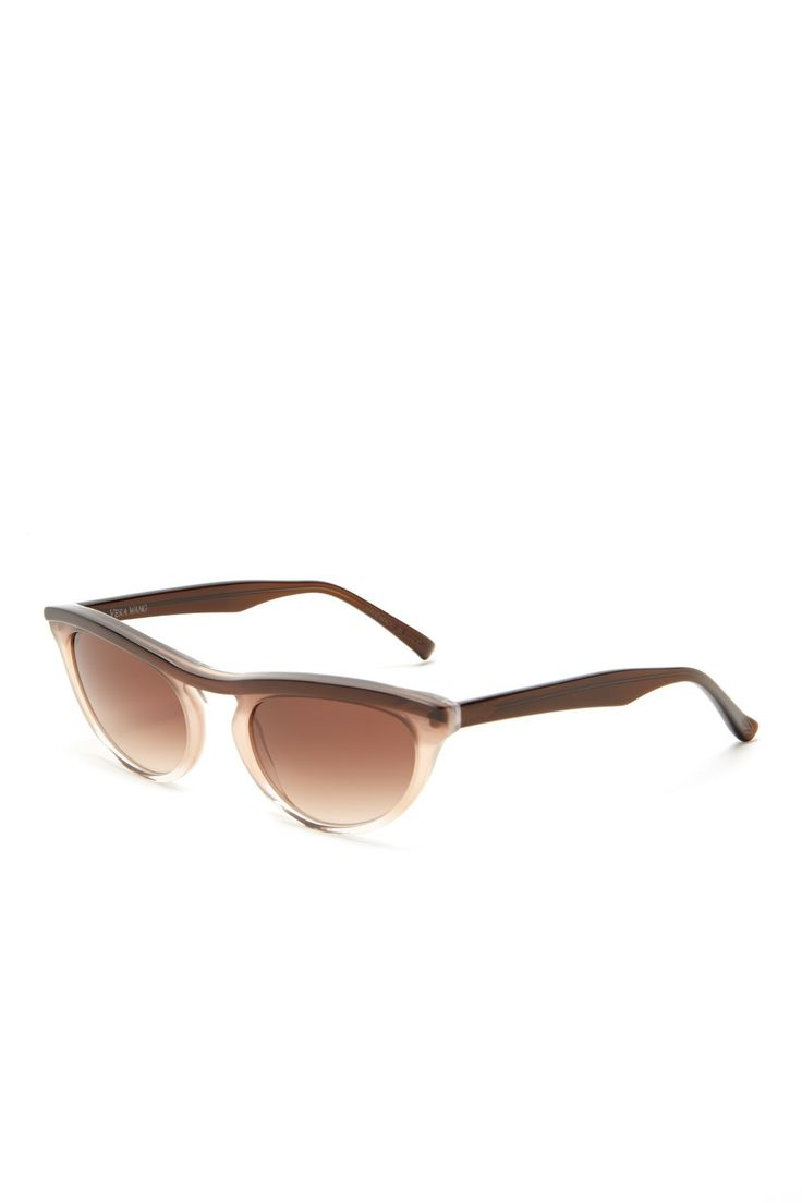 Vera Wang Women's Fashion Trend Plastic Sunglasses//
