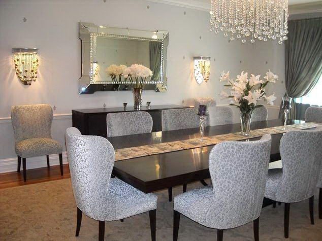 Modern White With Glass Dining Room Awesome Ideas