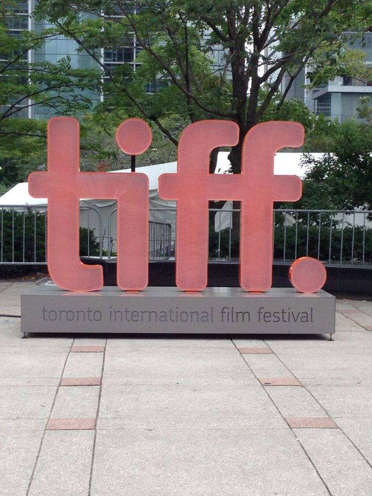 The TIFF - love this time of year in Toronto, makes September doesn't feel so depressing.