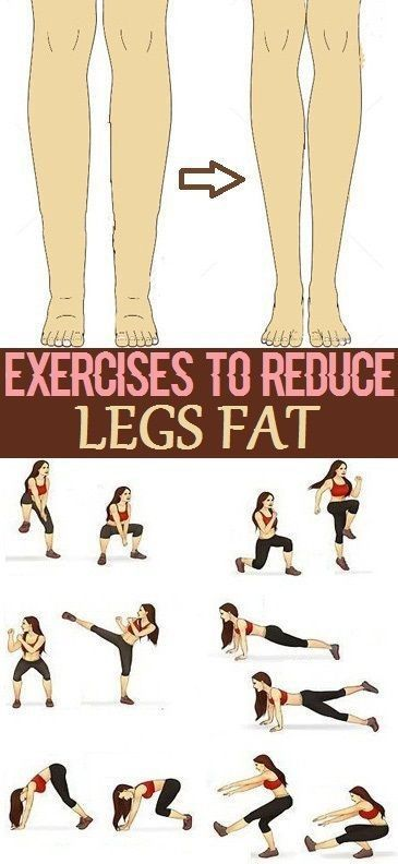 Exercises to Reduce Legs Fat