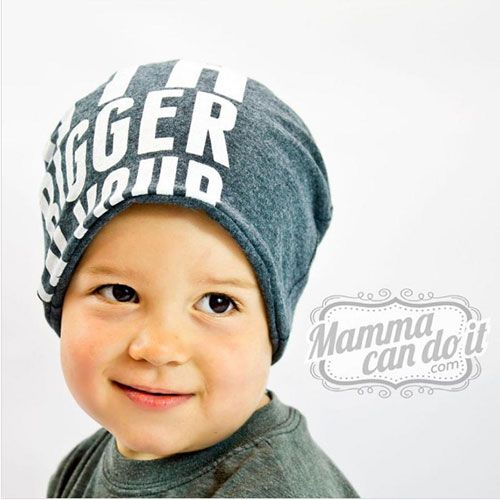 Mamma Can Do It Slouchy Beanie Sewing Pattern - This hat is a perfect fit for anyone. It's cute design is made to be slouchy, but you can also fold it up for a form fitting hat. This hat pattern is for sizes newborn to adult XXL. Another fun feature of this super adorable beanie hat pattern, is that it is designed to be completely reversible. So you get 2 hats in one!   ::  $5.99