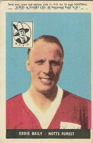 1. Eddie Bailey (Baily) Nottingham Forest