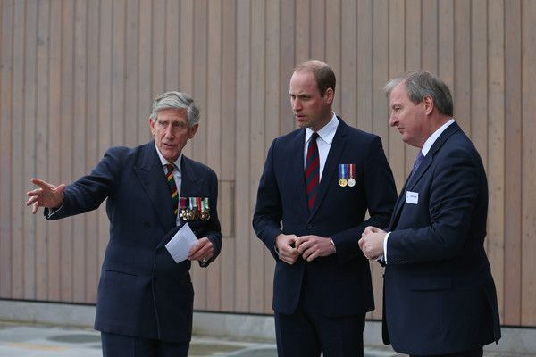 Prince William Photos Photos - Prince William, Duke of Cambridge (C) during the official opening of a new Remembrance Centre at The National Memorial Arboretum on March 29, 2017 in Stafford, England. The opening of the Remembrance Centre follows a major fundraising campaign supported by numerous individuals and organisations, including Staffordshire County Council, the Heritage Lottery Fund and The Royal British Legion. - The Duke Of Cambridge Opens New Remembrance Centre At The National…