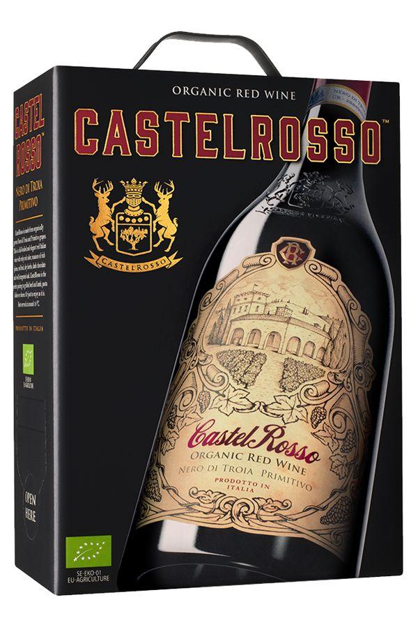 Castelrosso Nero di Troia Primitivo - elegant italienskt vin | Senses Wineclub