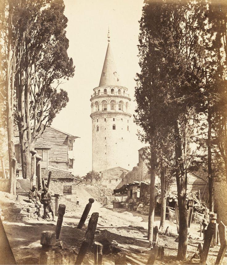 Galata Kulesi / 1854-1855James Robertson