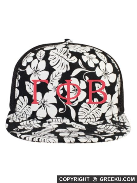 Sorority Souvenir Letters Embroidered Hawaiian Hat | Greek U | Customize the thread color and the sorority name. Minimum 12. Order now! http://www.greeku.com/sorority/merchandise/hats/embroidered-hats/souvenir-letters-embroidered-hawaiian-hat/