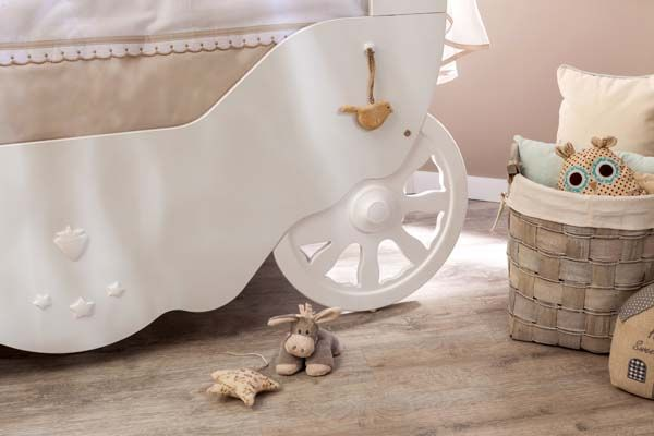 Detalles Cuna carroza de Cilekspain, Dormitorios temáticos. Bebes.