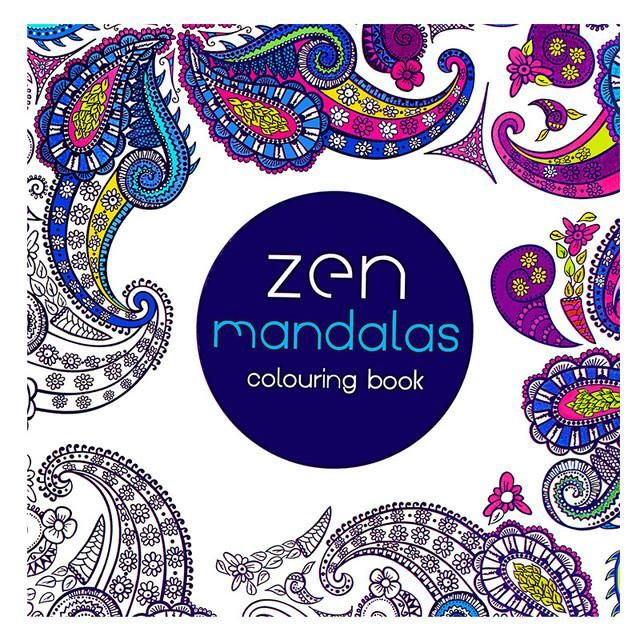 24 Pages Art Mandalas Stress Relieving Coloring Books