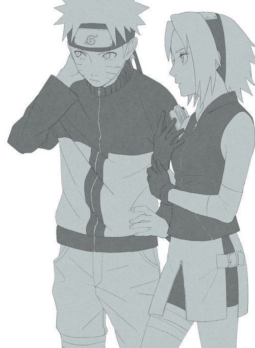 Wished Sakura liked Naruto frm the start and then runs crying to Sasuke .. Deim that would be so much better .-.