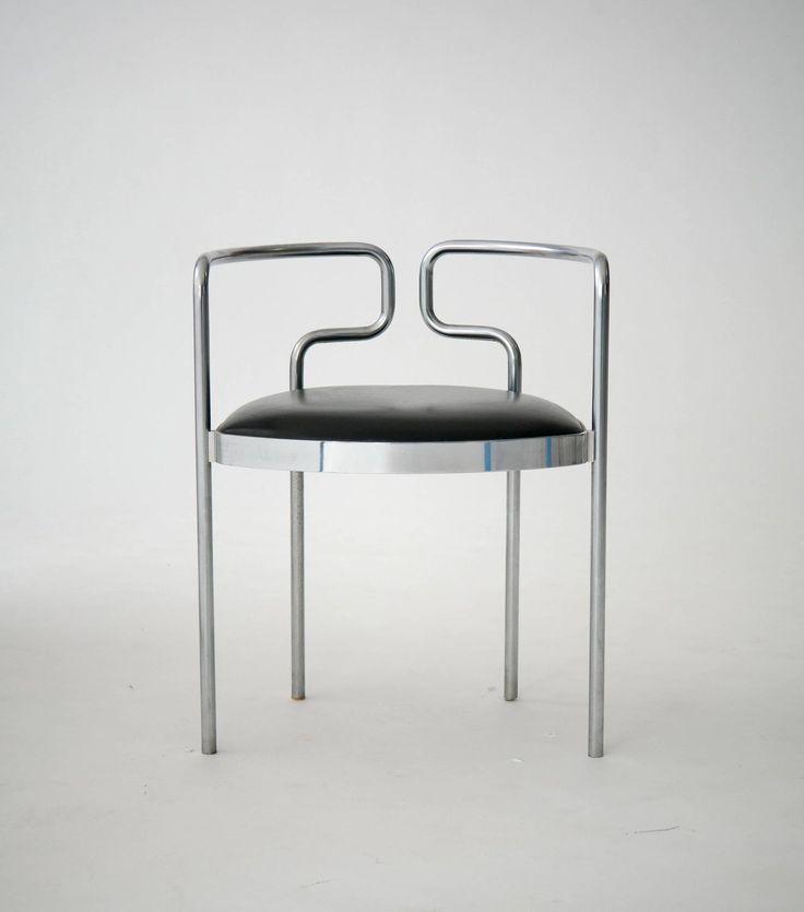 Four Henning Larsen Cafe Chairs for Fritz Hansen 5
