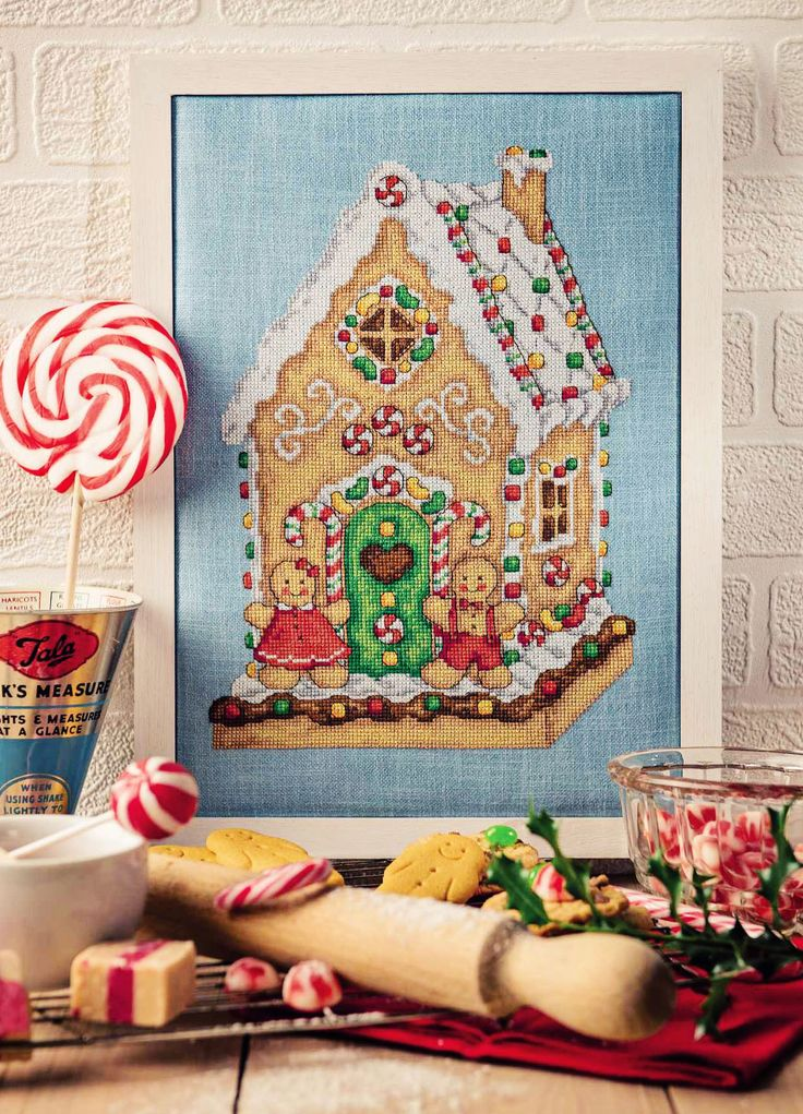Gingerbread House - Available in Cross Stitcher Collection 295