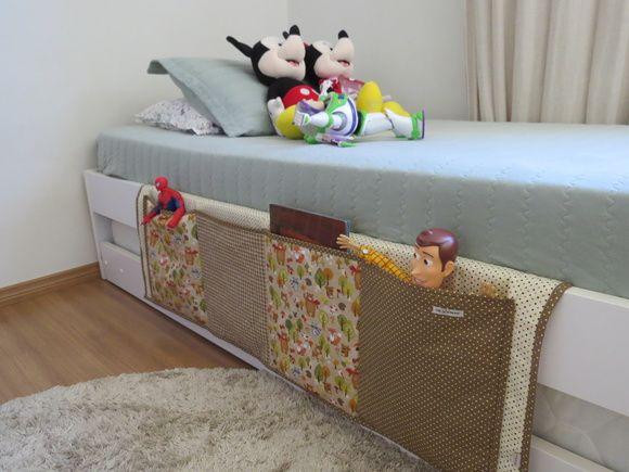Organizador para cama