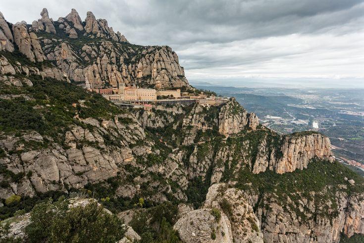 Montserrat Barcelona Kloster Spanisch Berühmt