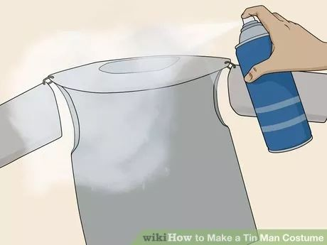 Image titled Make a Tin Man Costume Step 10                                                                                                                                                                                 More