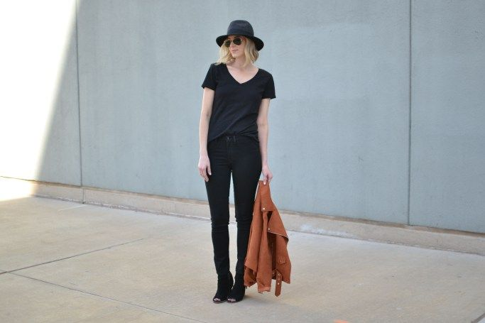 All Black Outfit with DSTLD - Straight A Style