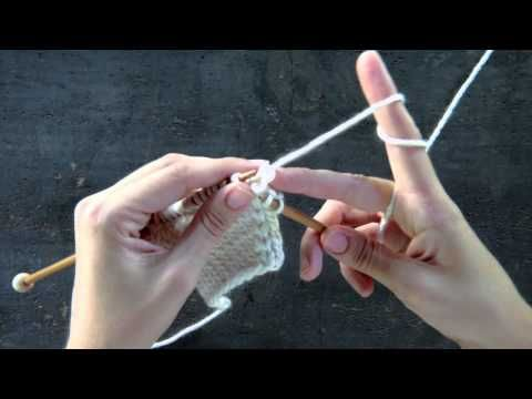 Knit in Front and Back (kfb) knitting Pinterest Purl Bee, Knitting Tuto...