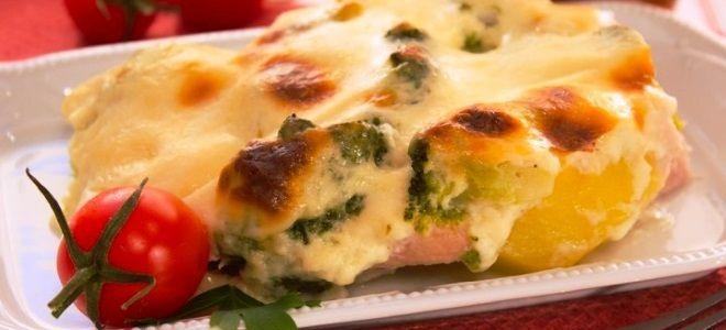 Куриное филе – рецепт с картошкой в духовке