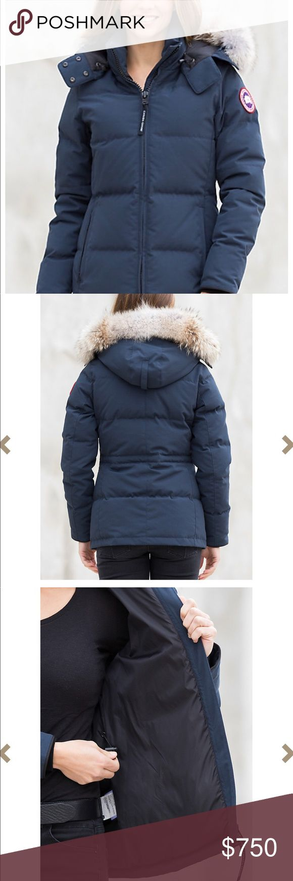 "NWT Navy Canada Goose ""Chelsea"" Parka New never been worn! Got as a gift and Its too big on me😫! I'll be shipping it to you the same way Neiman shipped it to me, taking off their label sticker and putting on the posh one! Priced low for a quick sale! ASK FOR EXTRA PHOTOS & QUESTIONS BEFORE PURCHASE, ALL SALES FINAL, NO RETURNS 🚫 Canada Goose Jackets & Coats Puffers"