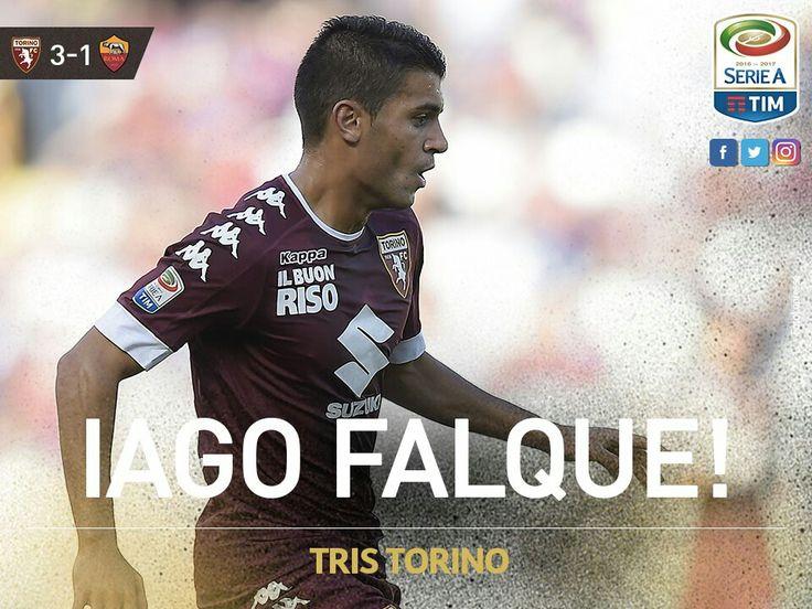 Torino 16, Iago Falque marco un baliso gol ante el Roma