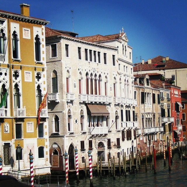 Lucky me to be born in such a #beautiful country. #Venice and its #CanalGrande here