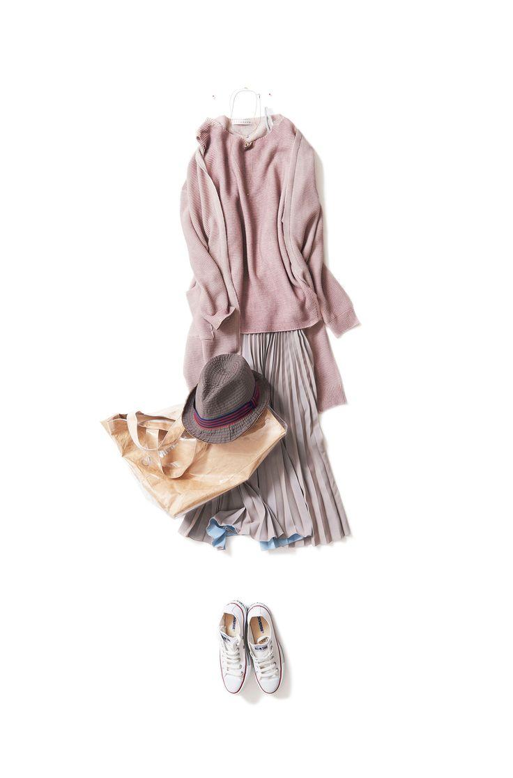 Kyoko Kikuchi's Closet #kk-closet 大人のムードで着たい甘い色合い