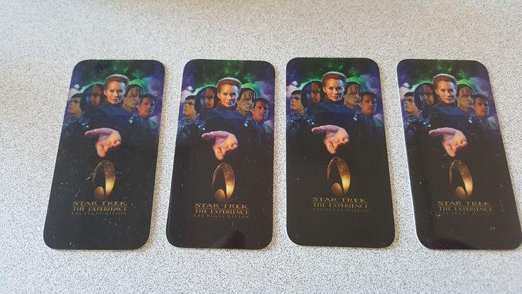 Star Trek the Experience Las Vegas Hilton Room Key Card Lot of 4