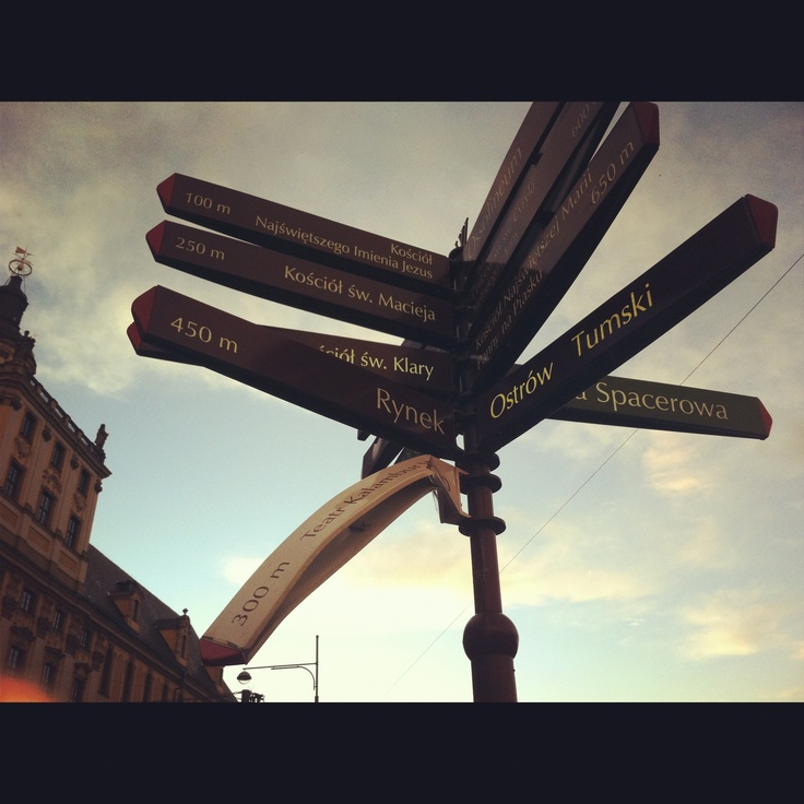 This is Wroclaw or Breslau; whatever you want. (January 2012, Poland)