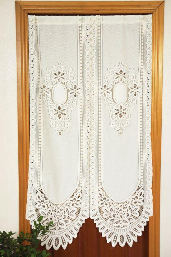 17 melhores ideias sobre cortinas de renda branca no pinterest ...
