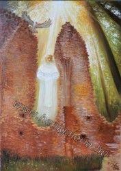 Gallery of Origin Paintings Magic of Paulite rains / Pálos romok varázslata olajfestmény