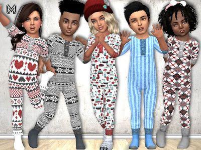The Sims 4 Mody: Kombinezony dla maluchów od Marty P