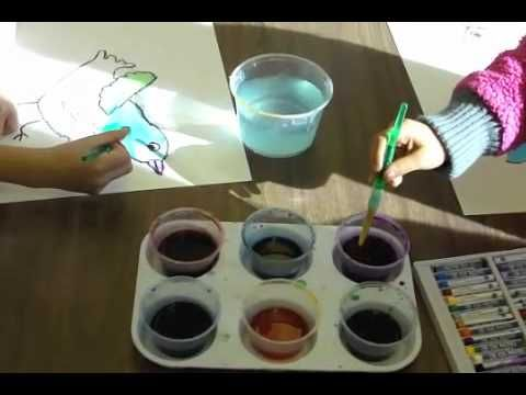 Deep Space Sparkle-How to paint watercolor birds