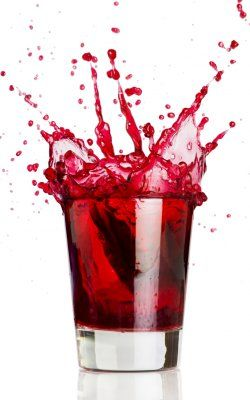 Blood Shot | 1 part Iceberg Vodka  1 part peach schnapps  1 part Jagermeister  1 part cranberry juice | Chill all ingredients. Combine in a shaker with ice. Strain into a shot glass. shoot!