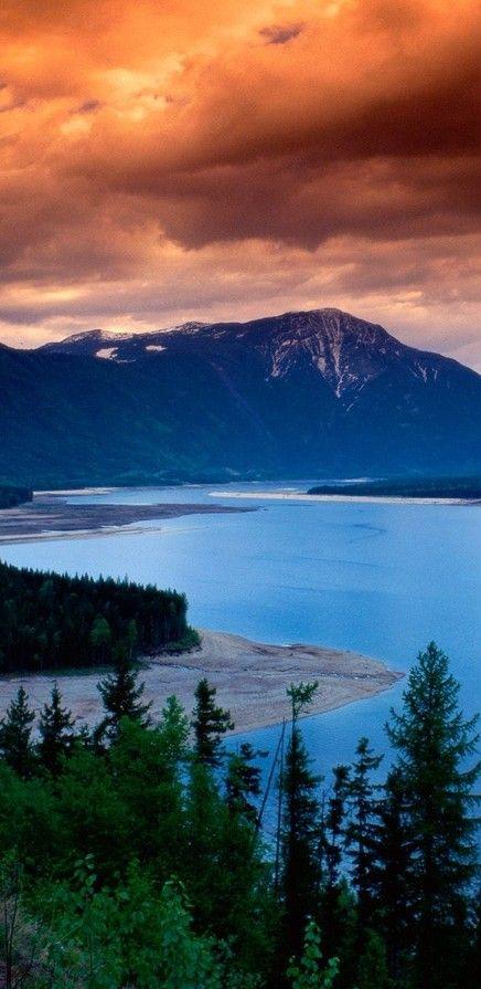 Upper Arrow Lake near Revelstoke, British Columbia, Canada • photo: Claudia Anzisi on Flick