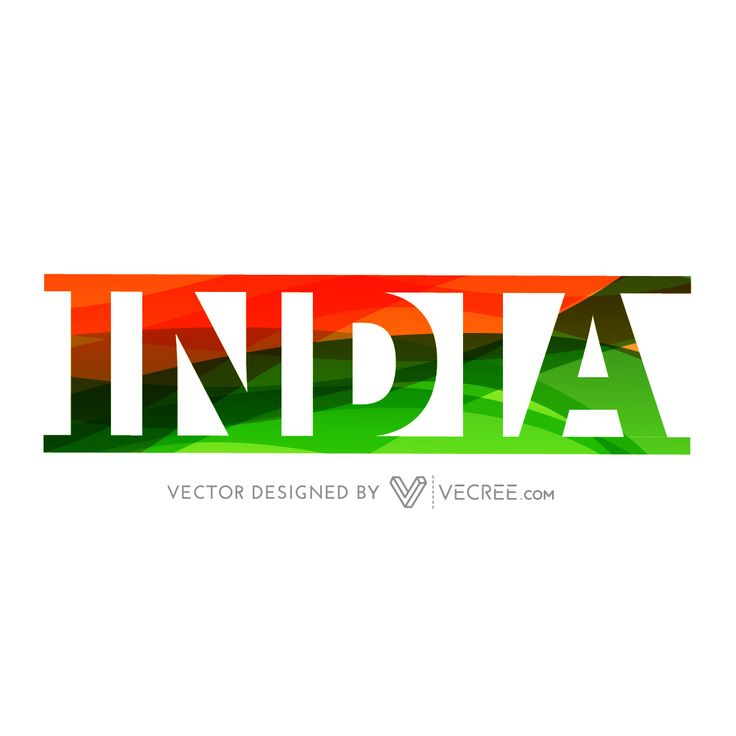 Indian Text With Indian Flag Colors Overlay Design Free Vector - https://vecree.com/9654415/indian-text-with-indian-flag-colors-overlay-design-free-vector/