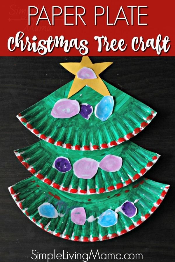 Paper Plate Christmas Tree Craft Simple Living Mama Christmas Tree Crafts Christmas Crafts For Kids To Make Christmas Crafts For Kids