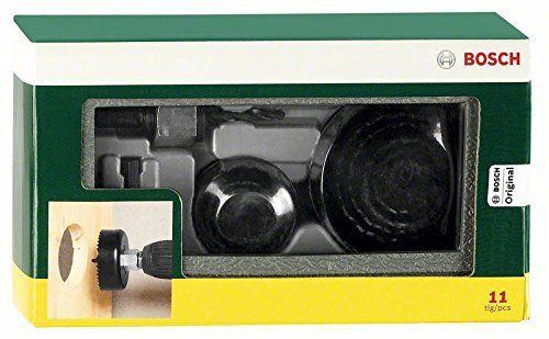 Bosch 2607019450 X-line Lames scie cloche 11 pièces: Price:9.048 scies-trépans HCS diametre 22/25/29/35/38/44/51/68 mm, adaptateur de 8 mm,…