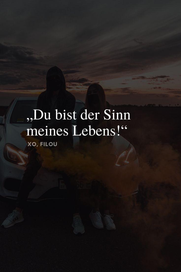 """""""Du bist der Sinn meines Lebens! - Schöne Sprüche & weise"""