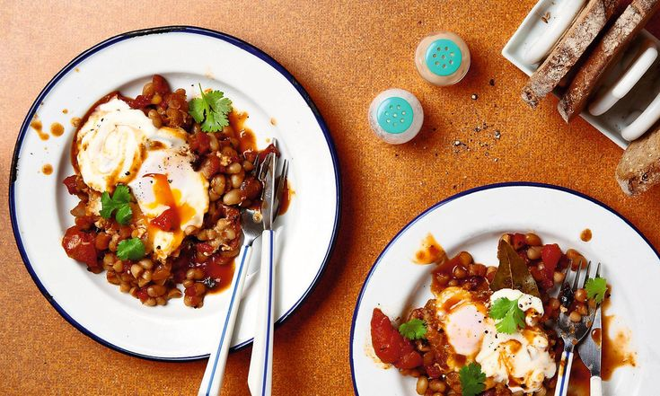 The weekend cook: Thomasina Miers's breakfast recipes for miso-buttered kippers and chipotle baked beans