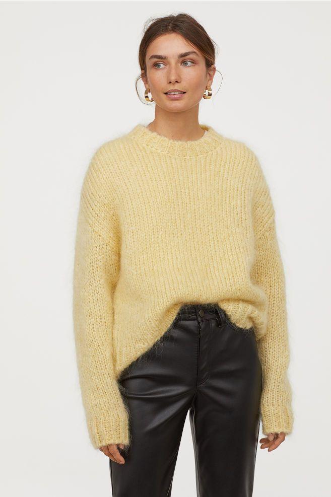 9c1b1684fc21 Knit Mohair-blend Sweater