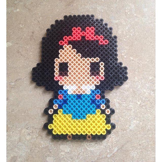 Snow White perler beads by meganmorphine - Original design by tsubasa.yamashita