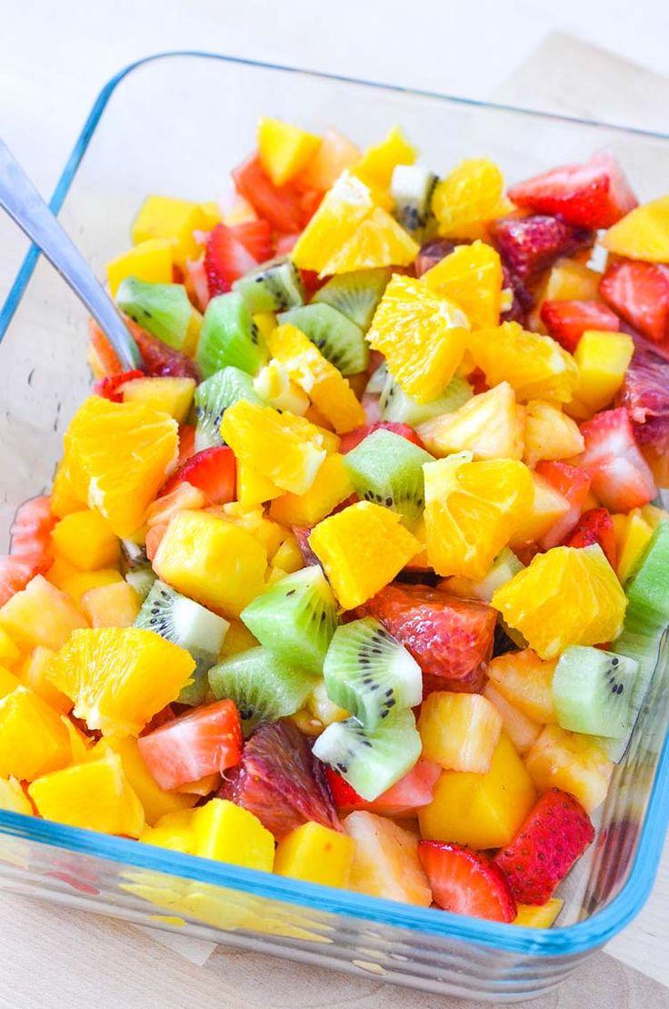 fruit salsa recipe healthy fruit drinks recipes