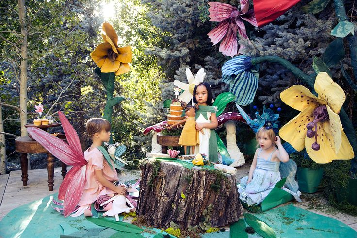 In love with these Mer Mag papier mache flowers for a fairy party. thehousethatlarsbuilt is giving away four signed copies of her fairy board books in a giveaway!