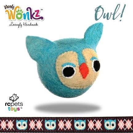 Today we have been introducing you to four of our new friends. They are the woodland creatures of Wooly Wonks and they are the first collection from our new brand, RC Pets Toys. All our toys are handmade by artisans in Nepal of 100% New Zealand wool.  Meet our last little friend - This is Owl!  Meet all of Owl's friends and learn more about our new toy brand here: www.rcpetstoys.com  #WoolyWonks #WoodlandSeries #sustainable #unique #DesignedInCanada #Nepal #NewZealandWool #pettoys #SuperZoo…