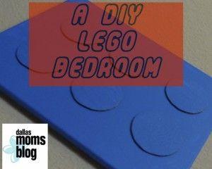 How to Make a Fabulous DIY LEGO Room! #Legoroom #decorateLego #DallasMomsBlogDIY