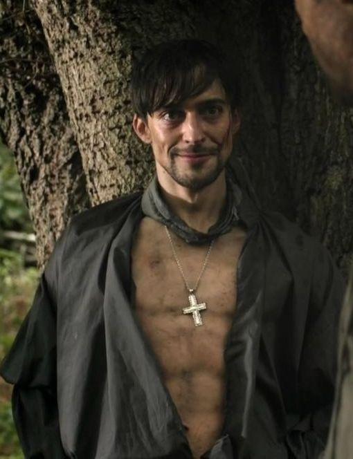 """Blake Ritson as Count Girolamo Riario in """"Da Vinci's Demons"""""""