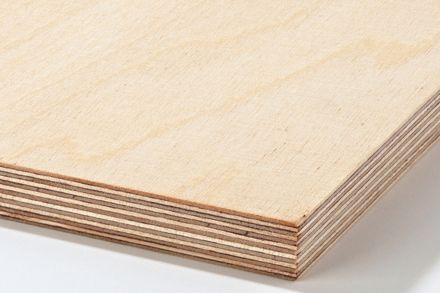 Plywood Sheet Cut to Size — for string shelves